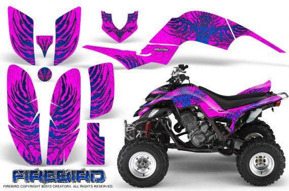 Yamaha Raptor 660 CreatorX Graphics Kit Firebird Blue Pink 570x376 - Yamaha Raptor 660 Graphics