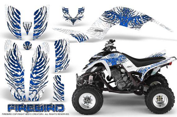 Yamaha Raptor 660 CreatorX Graphics Kit Firebird Blue White 570x376 - Yamaha Raptor 660 Graphics