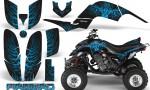 Yamaha Raptor 660 CreatorX Graphics Kit Firebird BlueIce Black 150x90 - Yamaha Raptor 660 Graphics