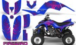 Yamaha Raptor 660 CreatorX Graphics Kit Firebird Pink Blue 150x90 - Yamaha Raptor 660 Graphics