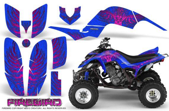 Yamaha Raptor 660 CreatorX Graphics Kit Firebird Pink Blue 570x376 - Yamaha Raptor 660 Graphics