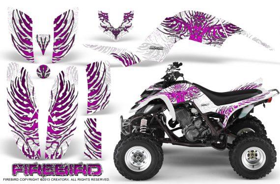 Yamaha Raptor 660 CreatorX Graphics Kit Firebird Pink White 570x376 - Yamaha Raptor 660 Graphics
