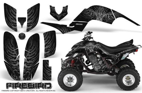 Yamaha Raptor 660 CreatorX Graphics Kit Firebird Silver Black 570x376 - Yamaha Raptor 660 Graphics