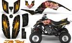 Yamaha Raptor 660 CreatorX Graphics Kit Little Sins Black 150x90 - Yamaha Raptor 660 Graphics