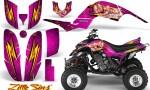 Yamaha Raptor 660 CreatorX Graphics Kit Little Sins Pink 150x90 - Yamaha Raptor 660 Graphics