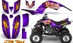 Yamaha Raptor 660 CreatorX Graphics Kit Little Sins Purple 150x90 - Yamaha Raptor 660 Graphics
