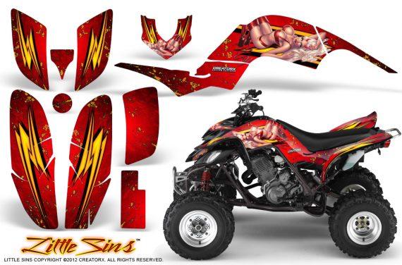 Yamaha Raptor 660 CreatorX Graphics Kit Little Sins Red BB 570x376 - Yamaha Raptor 660 Graphics