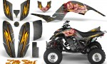 Yamaha Raptor 660 CreatorX Graphics Kit Little Sins Silver 150x90 - Yamaha Raptor 660 Graphics