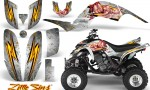 Yamaha Raptor 660 CreatorX Graphics Kit Little Sins White 150x90 - Yamaha Raptor 660 Graphics