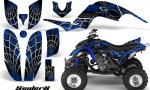 Yamaha Raptor 660 CreatorX Graphics Kit SpiderX Blue 150x90 - Yamaha Raptor 660 Graphics