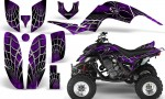 Yamaha Raptor 660 CreatorX Graphics Kit SpiderX Purple 150x90 - Yamaha Raptor 660 Graphics