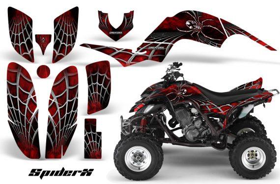 Yamaha Raptor 660 CreatorX Graphics Kit SpiderX Red BB 570x376 - Yamaha Raptor 660 Graphics