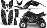 Yamaha Raptor 660 CreatorX Graphics Kit SpiderX Silver 150x90 - Yamaha Raptor 660 Graphics