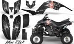 Yamaha Raptor 660 CreatorX Graphics Kit You Rock Black 150x90 - Yamaha Raptor 660 Graphics