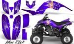 Yamaha Raptor 660 CreatorX Graphics Kit You Rock Purple 150x90 - Yamaha Raptor 660 Graphics