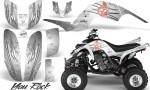 Yamaha Raptor 660 CreatorX Graphics Kit You Rock White 150x90 - Yamaha Raptor 660 Graphics