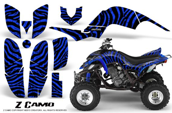 Yamaha Raptor 660 CreatorX Graphics Kit ZCamo Blue 570x376 - Yamaha Raptor 660 Graphics