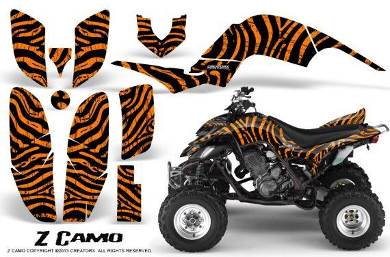 Yamaha Raptor 660 CreatorX Graphics Kit ZCamo Orange BB 570x376 - Yamaha Raptor 660 Graphics