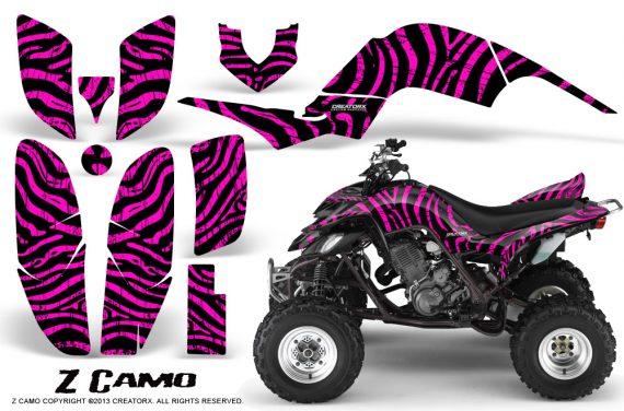 Yamaha Raptor 660 CreatorX Graphics Kit ZCamo Pink 570x376 - Yamaha Raptor 660 Graphics