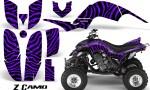 Yamaha Raptor 660 CreatorX Graphics Kit ZCamo Purple 150x90 - Yamaha Raptor 660 Graphics