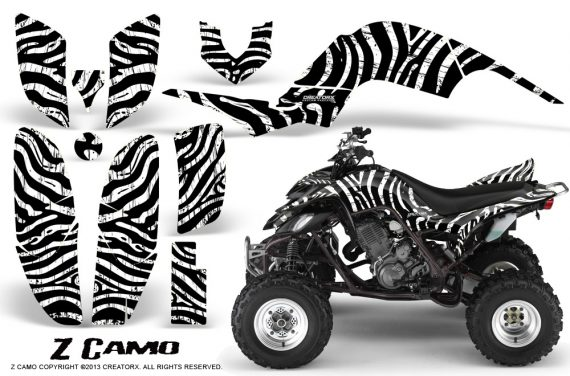Yamaha Raptor 660 CreatorX Graphics Kit ZCamo White BB 570x376 - Yamaha Raptor 660 Graphics