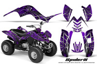 Yamaha-Raptor-80-CreatorX-Graphics-Kit-SpiderX-Purple