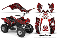 Yamaha-Raptor-80-CreatorX-Graphics-Kit-SpiderX-Red