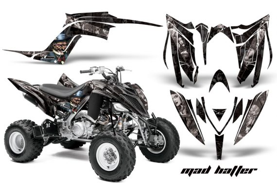 Yamaha Raptor YFM700R 2013 AMR Graphics Kit Mad Hatter KSilver 570x376 - Yamaha Raptor 700 2013-2018 Graphics