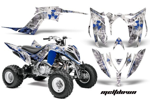 Yamaha Raptor YFM700R 2013 AMR Graphics Kit Meltdown U W 570x376 - Yamaha Raptor 700 2013-2018 Graphics