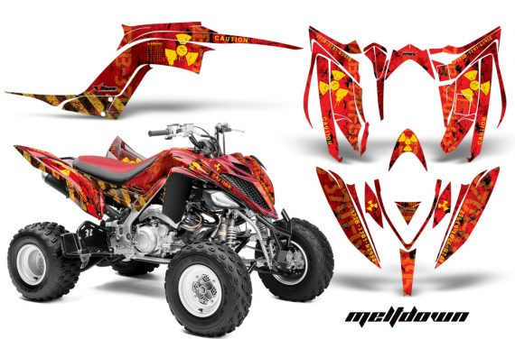 Yamaha Raptor YFM700R 2013 AMR Graphics Kit Meltdown Y R 570x376 - Yamaha Raptor 700 2013-2018 Graphics