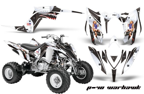 Yamaha Raptor YFM700R 2013 AMR Graphics Kit P40 Warhawk WK 570x376 - Yamaha Raptor 700 2013-2018 Graphics