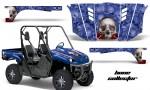 Yamaha Rhino AMR Graphics Kit Bones BL 150x90 - Yamaha Rhino 700/660/450 Graphics
