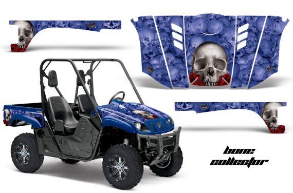 Yamaha Rhino AMR Graphics Kit Bones BL 570x376 - Yamaha Rhino 700/660/450 Graphics