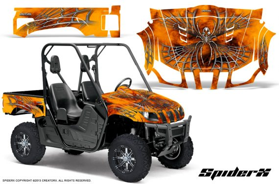 Yamaha Rhino CreatorX Graphics Kit SpiderX Orange 570x376 - Yamaha Rhino 700/660/450 Graphics