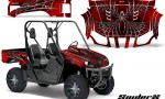 Yamaha Rhino CreatorX Graphics Kit SpiderX Red 150x90 - Yamaha Rhino 700/660/450 Graphics