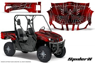 Yamaha Rhino CreatorX Graphics Kit SpiderX Red 320x211 - Yamaha Rhino 700/660/450 Graphics