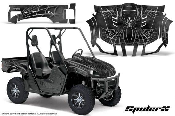 Yamaha Rhino CreatorX Graphics Kit SpiderX Silver 570x376 - Yamaha Rhino 700/660/450 Graphics