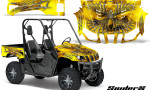 Yamaha Rhino CreatorX Graphics Kit SpiderX Yellow 150x90 - Yamaha Rhino 700/660/450 Graphics