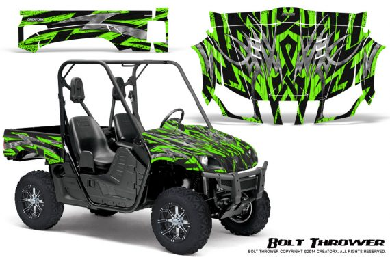 Yamaha Rhino Graphics Kit Bolt Thrower Green 570x376 - Yamaha Rhino 700/660/450 Graphics