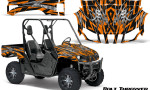 Yamaha Rhino Graphics Kit Bolt Thrower Orange 150x90 - Yamaha Rhino 700/660/450 Graphics