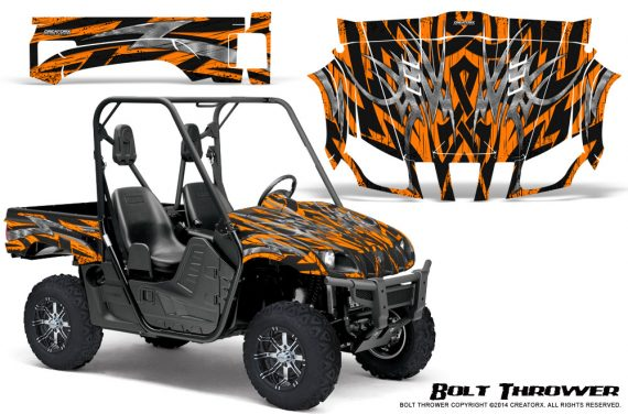Yamaha Rhino Graphics Kit Bolt Thrower Orange 570x376 - Yamaha Rhino 700/660/450 Graphics