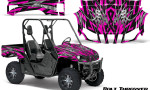Yamaha Rhino Graphics Kit Bolt Thrower Pink 150x90 - Yamaha Rhino 700/660/450 Graphics