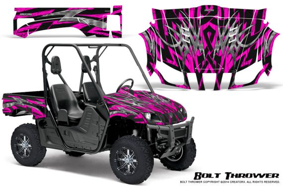 Yamaha Rhino Graphics Kit Bolt Thrower Pink 570x376 - Yamaha Rhino 700/660/450 Graphics