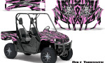 Yamaha Rhino Graphics Kit Bolt Thrower PinkLite 150x90 - Yamaha Rhino 700/660/450 Graphics