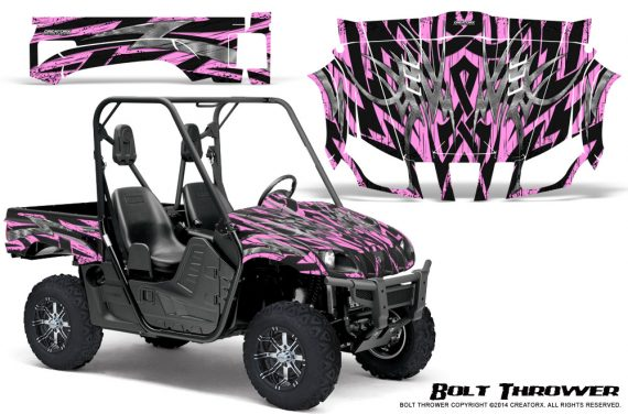 Yamaha Rhino Graphics Kit Bolt Thrower PinkLite 570x376 - Yamaha Rhino 700/660/450 Graphics