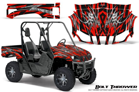Yamaha Rhino Graphics Kit Bolt Thrower Red 570x376 - Yamaha Rhino 700/660/450 Graphics