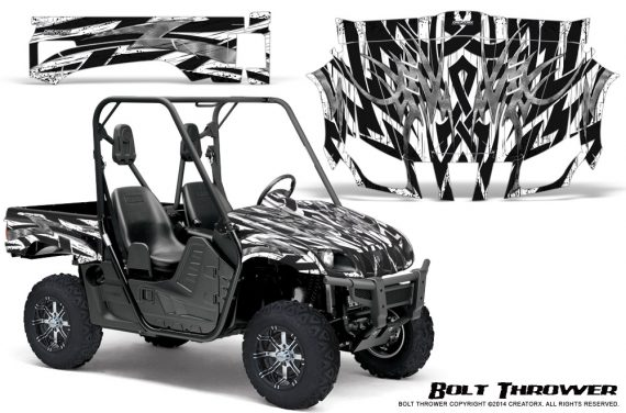 Yamaha Rhino Graphics Kit Bolt Thrower White 570x376 - Yamaha Rhino 700/660/450 Graphics