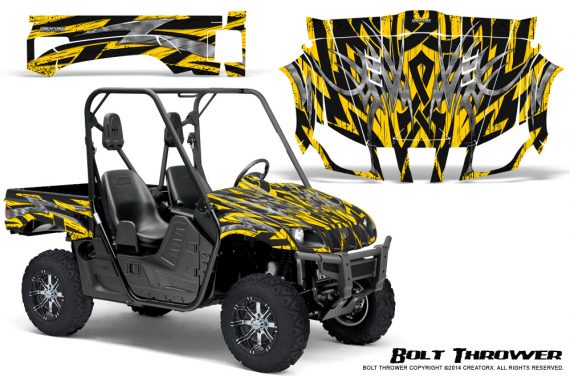 Yamaha Rhino Graphics Kit Bolt Thrower Yellow 570x376 - Yamaha Rhino 700/660/450 Graphics