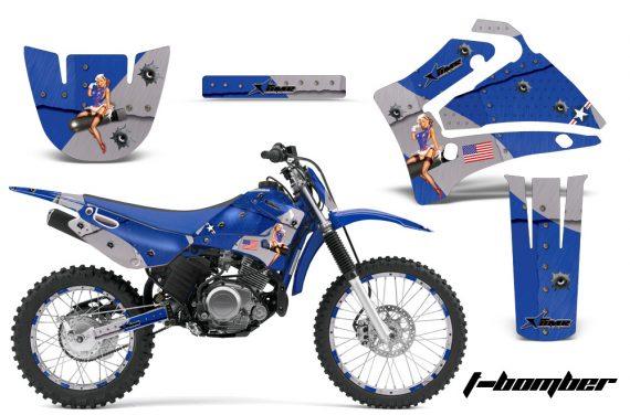 Yamaha TTR125 AMR Graphics Kit TB BL NPs 570x376 - Yamaha TTR125 2000-2019 Graphics
