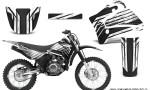 Yamaha TTR125 CreatorX Graphics Kit Chromium Black BB NP Rims 150x90 - Yamaha TTR125 2000-2019 Graphics